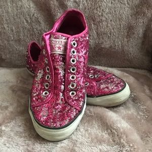 Converse Sequin Shoes
